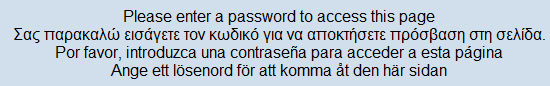 Text Translation- Please enter a password